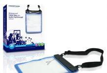 CWPBTABAP Waterproof Tablet Bag With Audio Passthrough