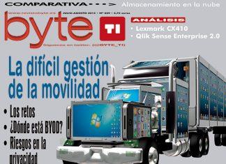 Revista Byte TI 229, Julio - Agosto 2015