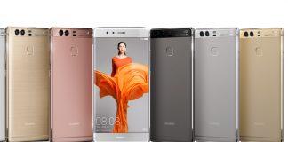 Huawei P9 smartphones chinos