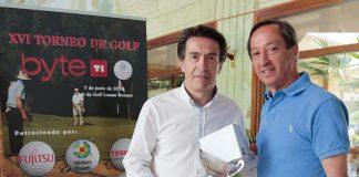 Torneo de Golf Byte TI. Néstor Carralero ganador