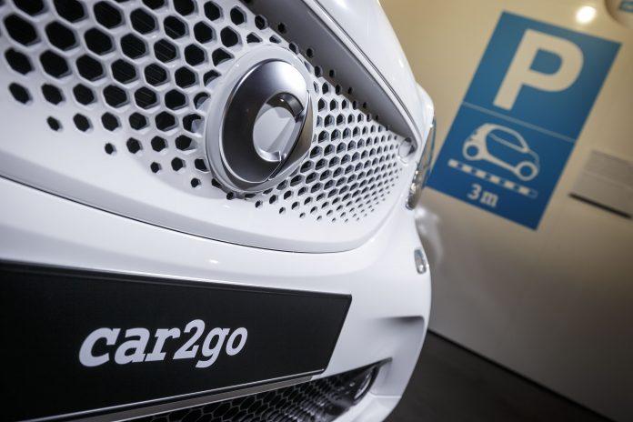 car2go movilidad colaborativa