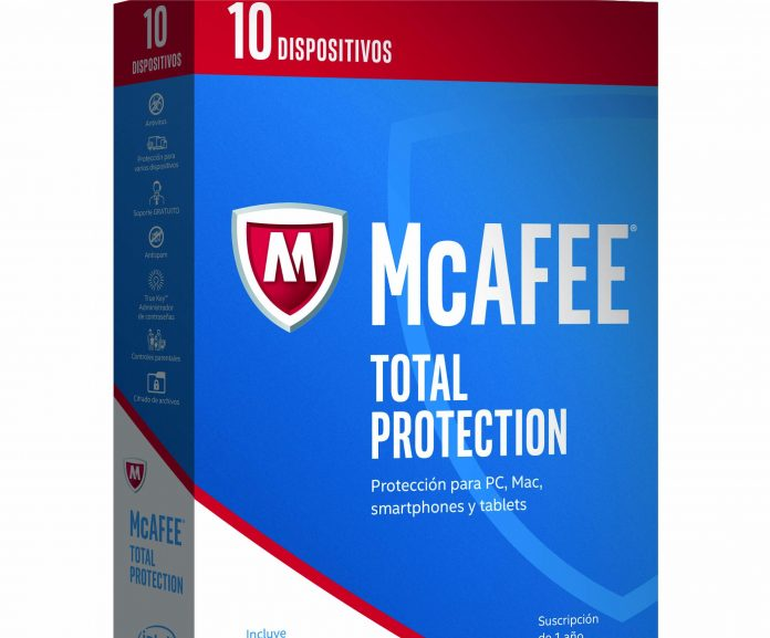 mcaffe total protection