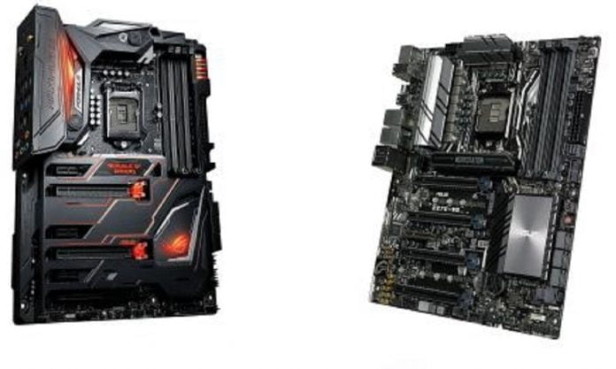 motherboards ASUS