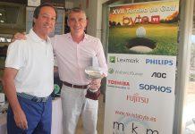 Josep Aragonés, director general de Wolters Kluwer, ganador de la XVII edición del Torneo de Golf Byte TI