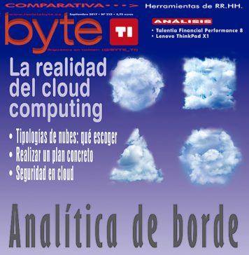 Portada Revista Byte TI 252, septiembre 2017