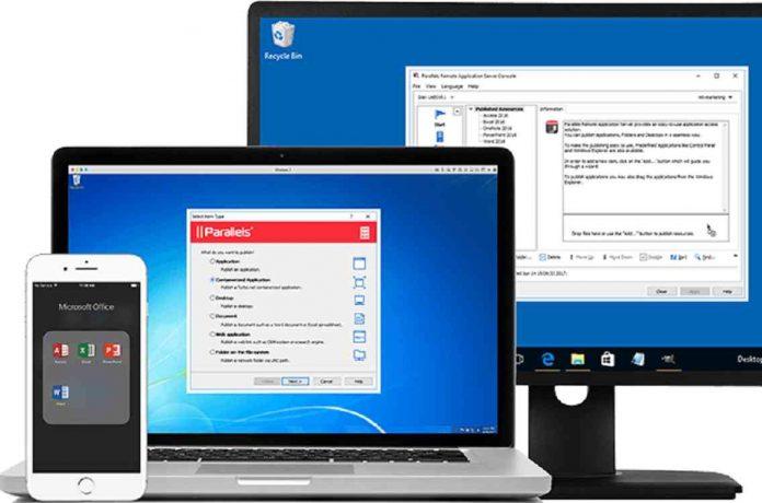 Parallels Remote Application Server, escritorio virtual, aplicaciones virtuales