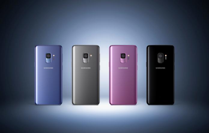 samsung Galaxy S9+ rolling stones