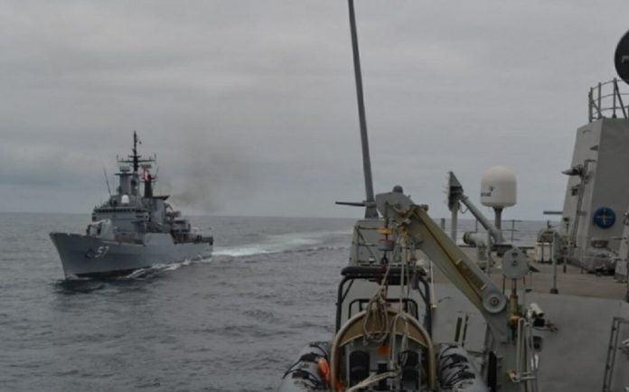 Fragata Cristóbal Colón satlink e hisdesat ministerio de defensa