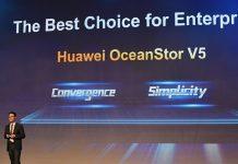 Huawei lanza el Converged Flash Array OceanStor V5.