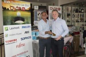 Tim Emens, EMEA Region Enterprise Director de Lexmark, ganador bola más cercana