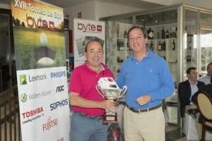Pedro Emilio González Tapia, Ganador torneo de Golf Byte TI 2018