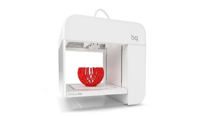 Impresora 3D BQ Witbox Go ok
