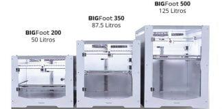 Impresora 3D Tumaker BigFoot, Impresoras 3D industriales