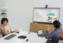 logitech videocolaboración video reunion
