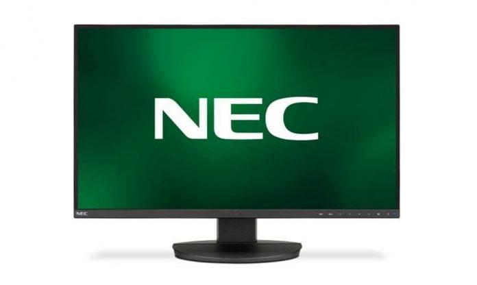 Monitor NEC MultiSync EA271Qcon conectividad USB Tipo-C