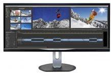 Monitor Philips BDM3470UP con pantalla UltraWide de 34 pulgadas