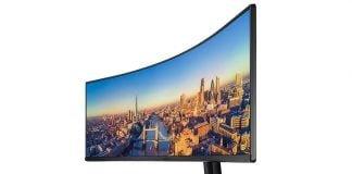 Monitor Samsung CJ89 con pantalla curva de 49 pulgadas
