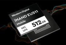 Western Digital iNAND - MC EU511
