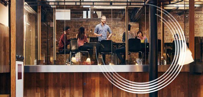 workplace hub startups oficina trabajo konica minolta