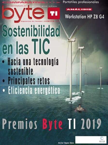 Portada Revista Byte TI Abril 2019 numero 270