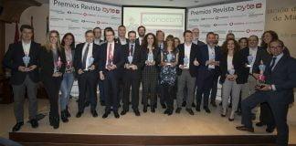 Los premios Byte TI 2019 reúnen a las principales empresas del sector TIC OK