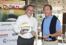 Antonio Gil Muga, director de operaciones y Sistemas de GVC Gaesco Beka S.V, ganador Torneo Golf Byte TI 2