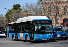 pago por reconocimiento facial en Autobuses de Madrid