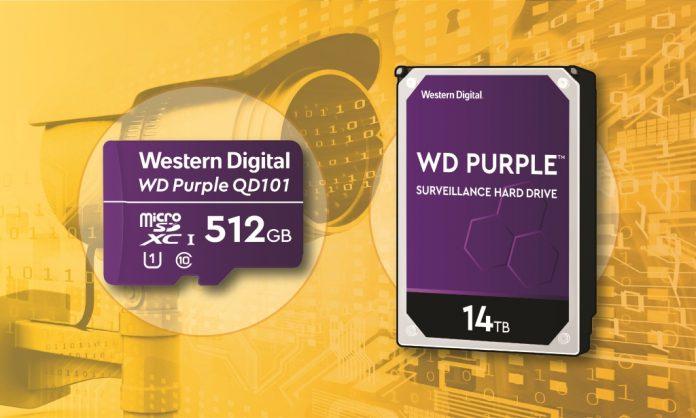 WD cámaras de seguridad almacenamiento