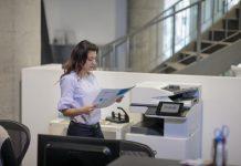 HP espacios de trabajo impresoras multifunción