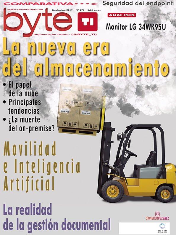 Portada Revista Byte TI Noviembre 2019