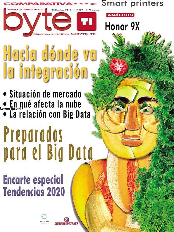 Portada Revista Byte TI Diciembre 2019
