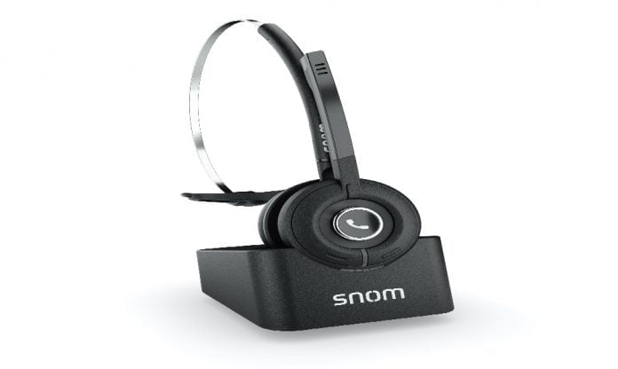 Snom A190 DECT, los auriculares que permiten una total movilidad