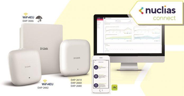 D-Link Nuclias Connect gestión de redes WiFi