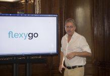 Ignacio Herrero, director general de AHORA, durante la presentación de flexygo