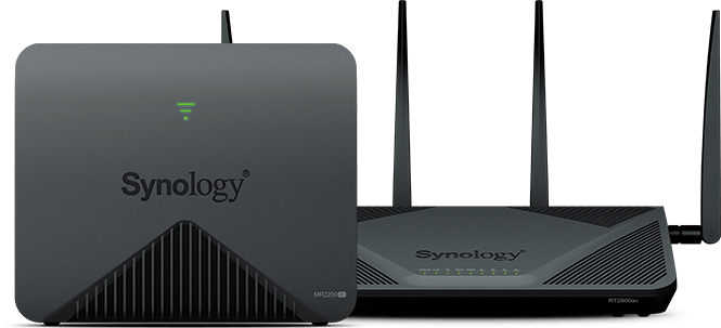Synology MR2200ac y RT2600ac