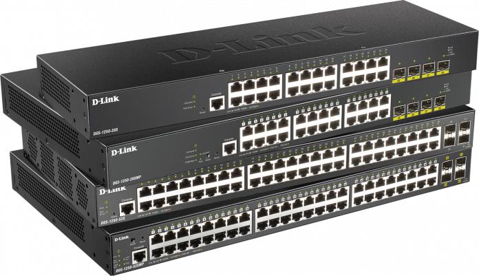 D-Link_Switches_Smart_DGS-1250_10 Gigabit_pymes
