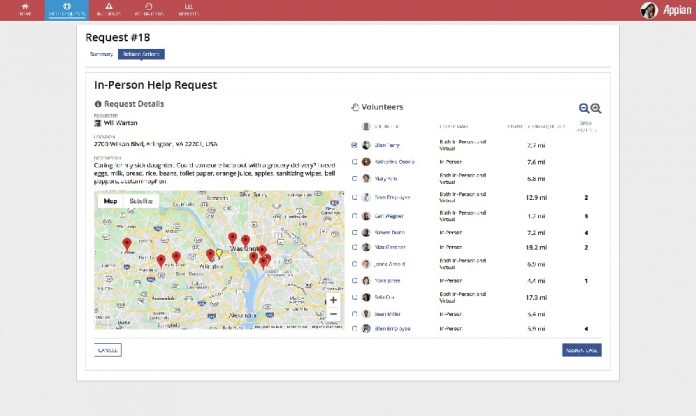 Appian da respuesta al COVID-19 con su nueva app