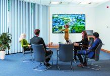 B-line-pr philips pantallas colaboración reuniones