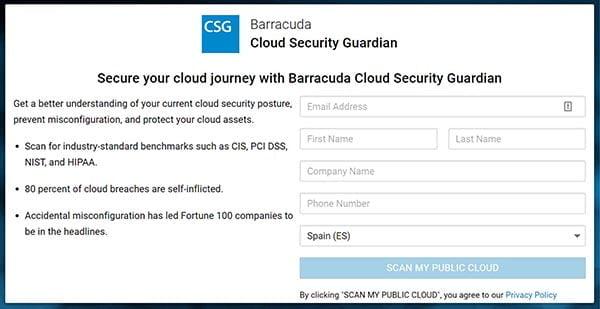 Barracuda Cloud Security Guardian