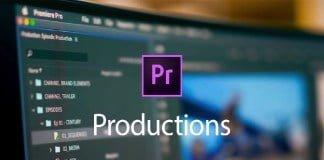 Premiere Pro incorpora Productions para un trabajo de producción más colaborativo