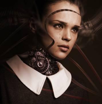 inteligencia artificial aprende a llorar humanoide