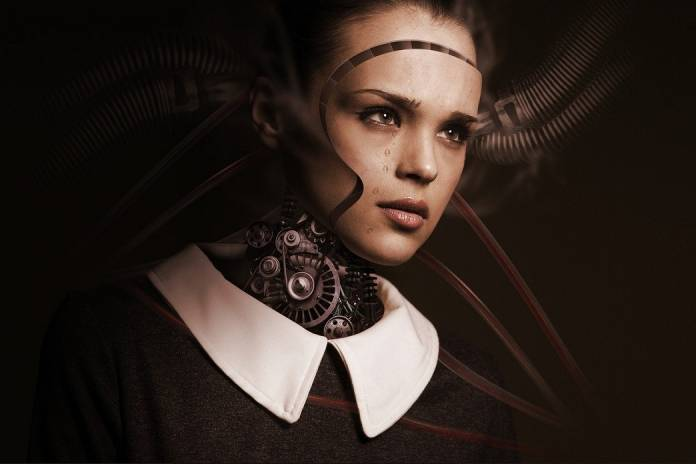 inteligencia artificial aprende a llorar humanoide entrevista de trabajo