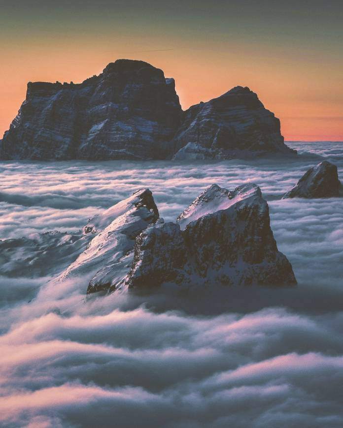 mar de nube cloud