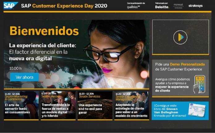 SAP Customer Experience Day 2020 experiencia del cliente