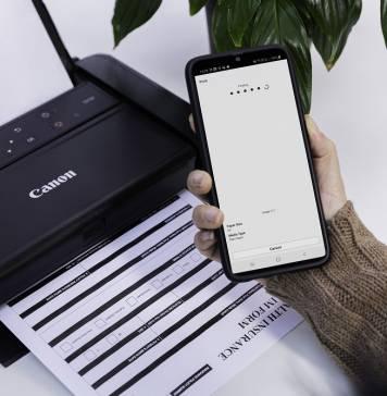 Canon PIXMA TR150 web