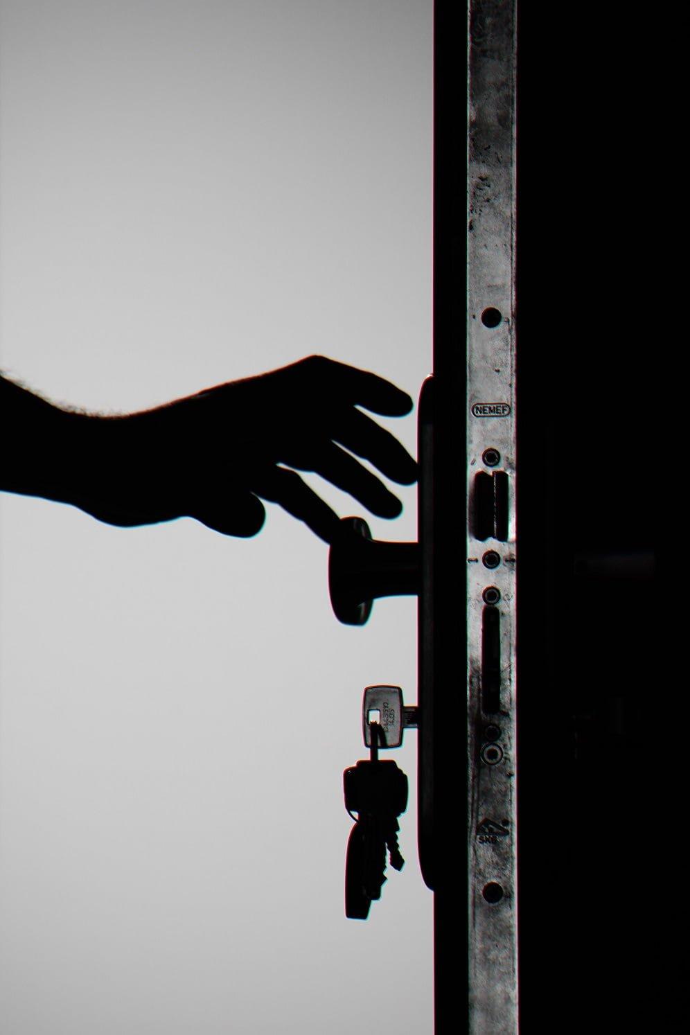 ciberseguridad puerta