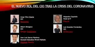 Nuevo Rol del CIO tras la crisis del Coronavirus
