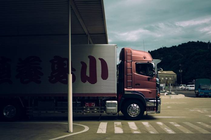 digitalización logística camion
