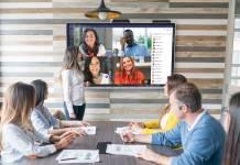 Sharp pantallas interactivas colaboración