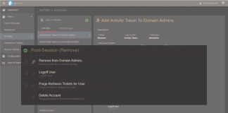 dot force Privileged Activity Manager